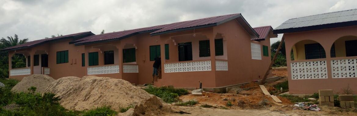 2-unit junior staff quarters at Abura dunkwa