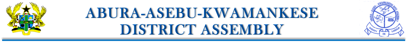 Abura-Asebu-Kwamankese District Assembly Logo